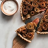 Rose Apple Pistachio Tart