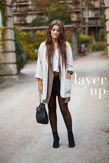 Fall 2011 Street Style - How To Layer for Fall