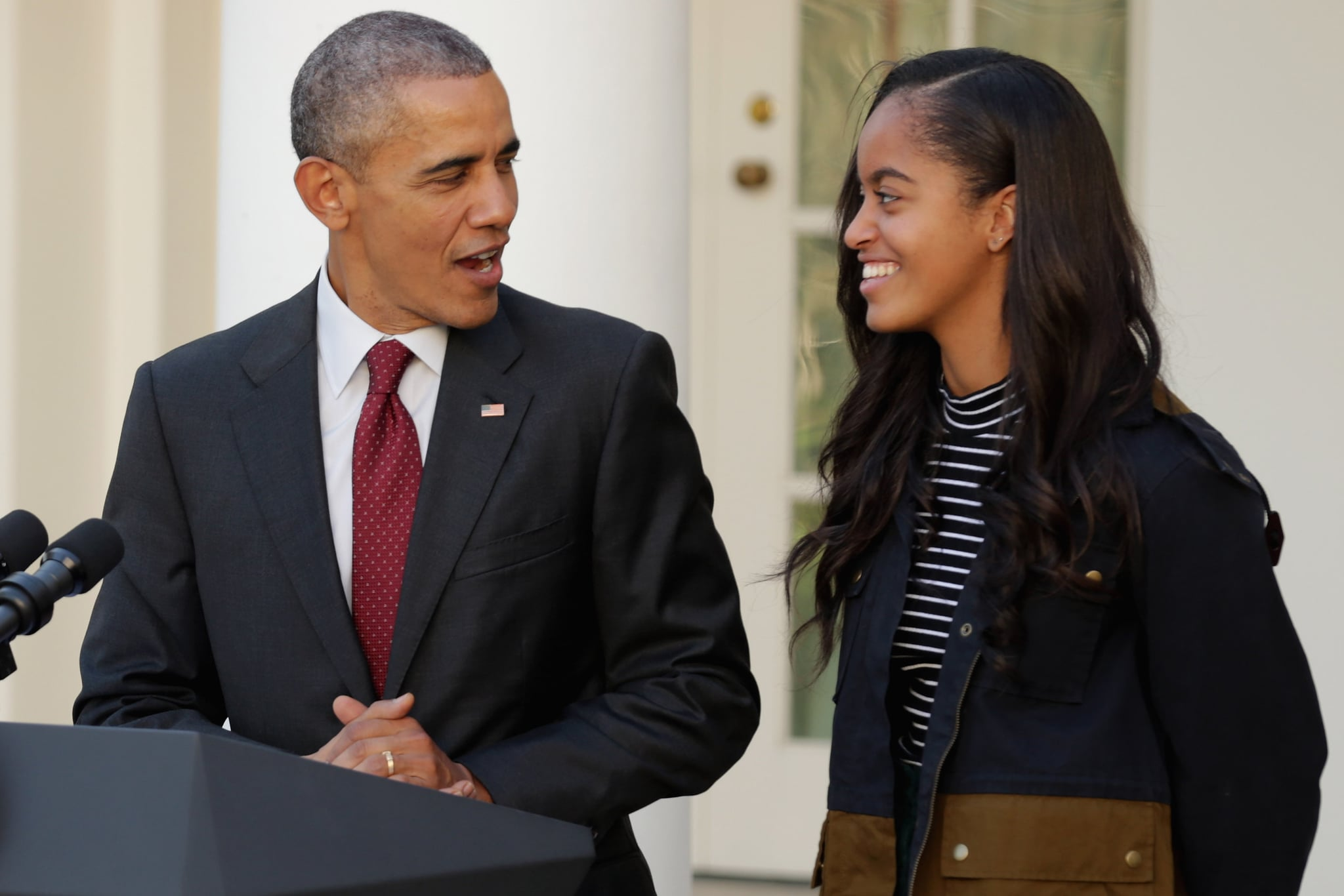 80a5d0bd41f Michelle Obama Talks About Malia s Prom Date in Becoming