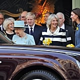 "Camilla: ""I told you she'd call shotgun first."""