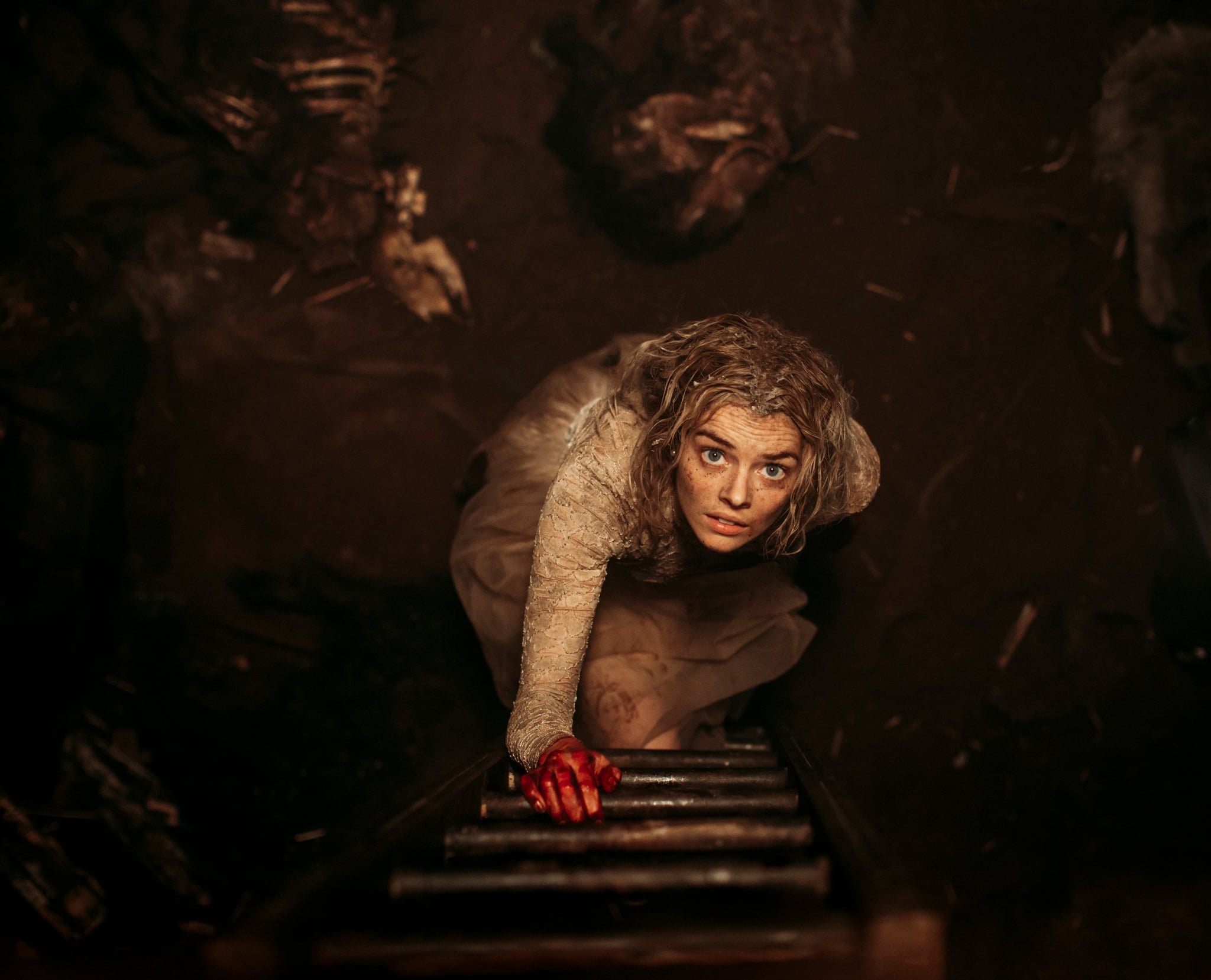 READY OR NOT, Samara Weaving, 2019. ph: Eric Zachanowich / TM & copyright  Fox Searchlight Pictures. All rights reserved. / courtesy Everett Collection