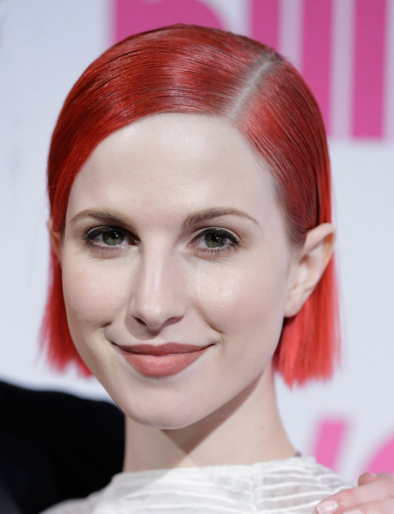 Hayley Williams Hair Color Line | POPSUGAR Beauty