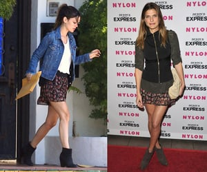 Lake Bell and Rachel Bilson Wear the Same Floral Miniskirt