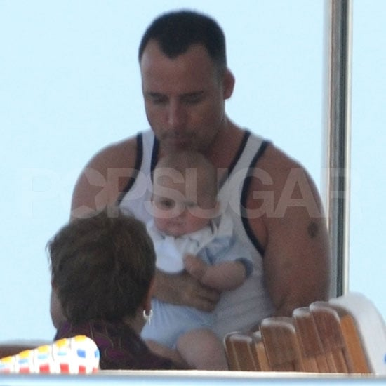 Elton John Pictures With Son Zachary