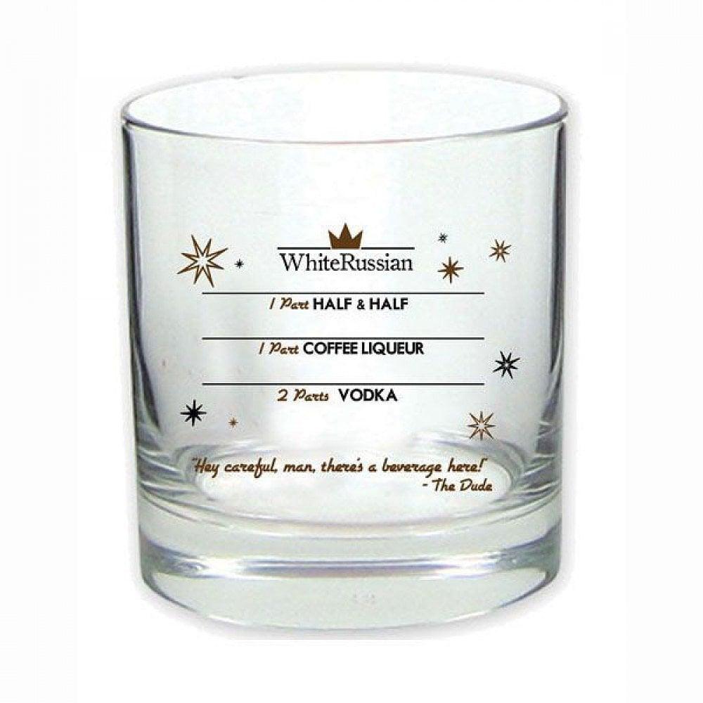 The Big Lebowski White Russian Glass ($10)