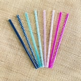 Ello Eight Pack of Plastic Straws