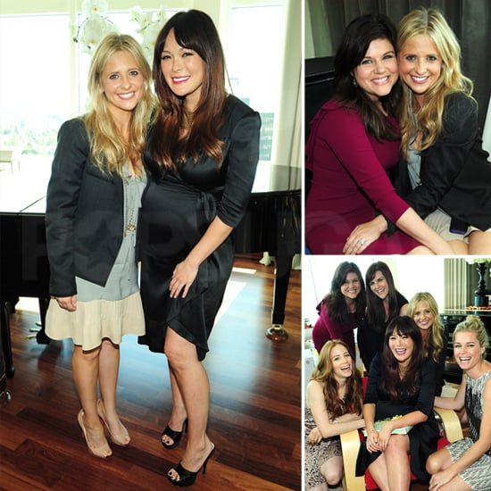 Sarah Michelle Gellar and Tiffani Thiessen Shower Mom-to-Be Lindsay Price With Baby Gifts!
