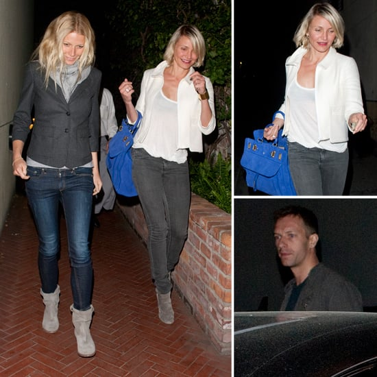 Gwyneth Paltrow and Chris Martin Pictures With Cameron Diaz