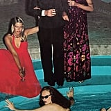 Coddington in pool by Helmut Newton, 1973