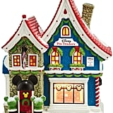 """Mickey's Christmas Village Collection """"Mickey's Pin Traders"""""""