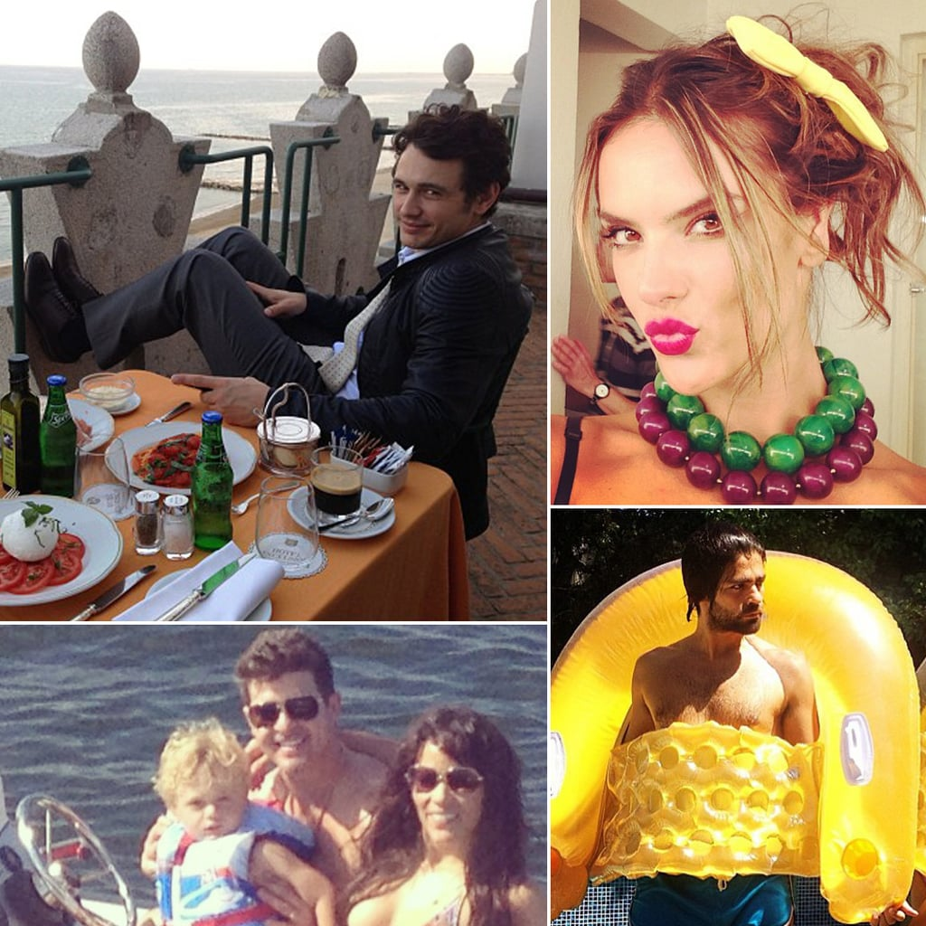 Celebrity Instagram Pictures From Labor Day 2013