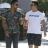 Joe Jonas and Wilmer Valderrama Out Together September 2016