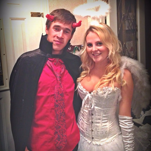 Angel and Devil | Sexy Couples Halloween Costumes | POPSUGAR