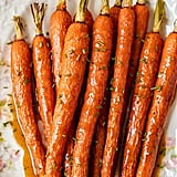 Honey Glazed Carrots With Ginger