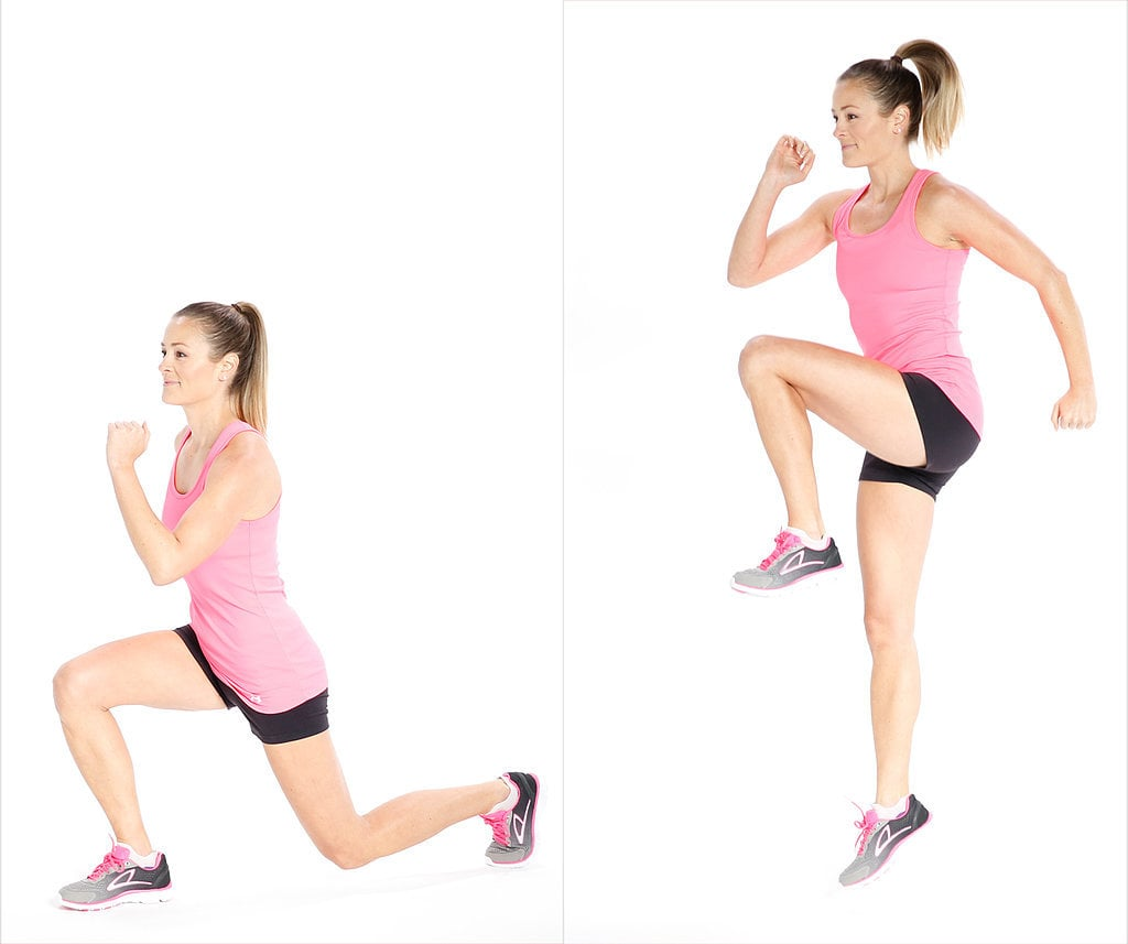Reverse Lunge and Hop