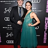 Mitchell Travers and Constance Wu at the Hustlers Post-Screening Event