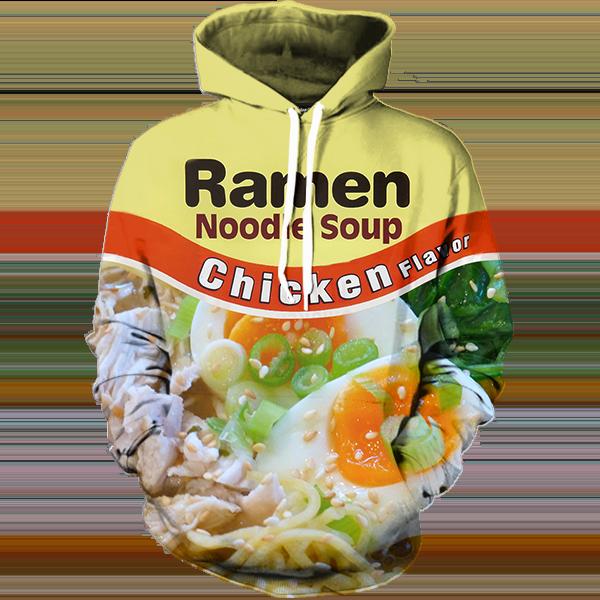 Geton Fleek Chicken Ramen Hoodie