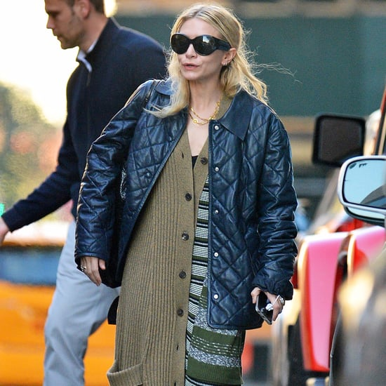 Ashley Olsen's Long Cardigan October 2016
