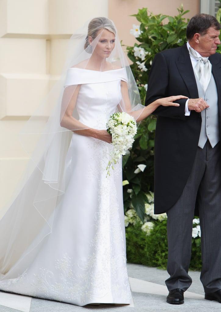 Princess Charlene of Monaco, 2011 | Royal Wedding Dresses | POPSUGAR ...