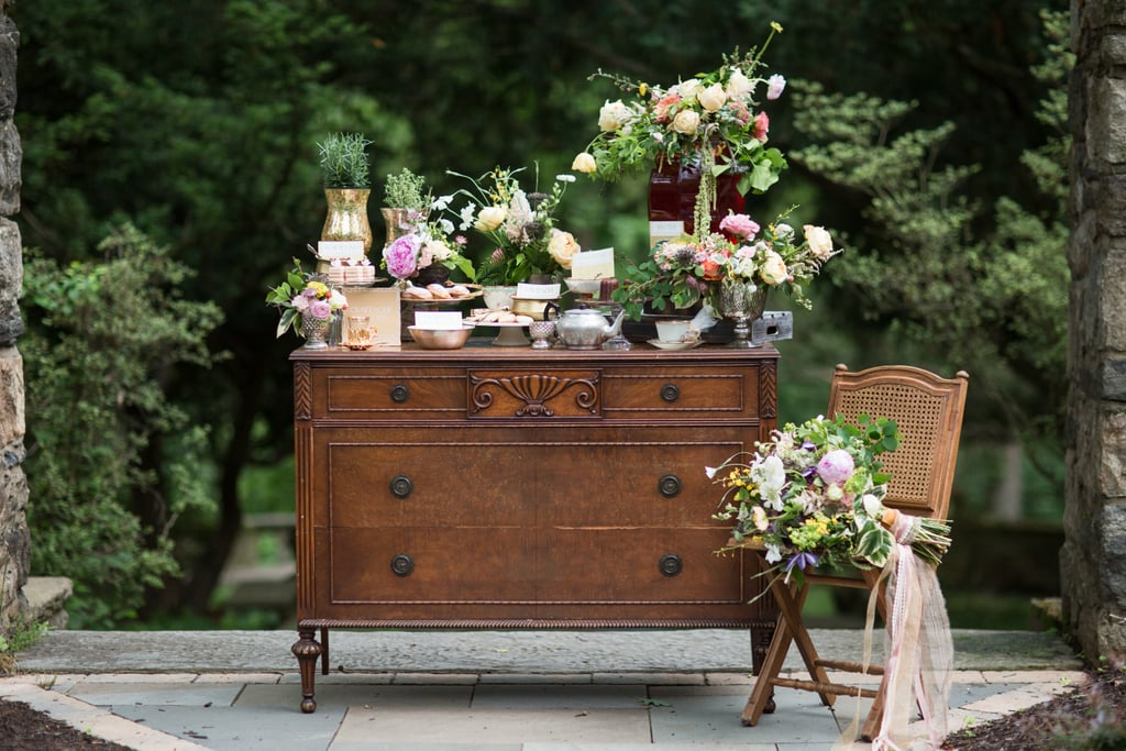 Upcycle furniture as sophisticated decor.