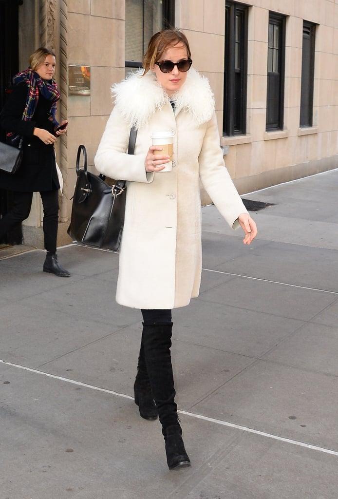 Dakota Johnson's Miu Miu Coat