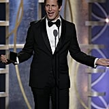 Andy Samberg Couldn't Believe He Won a Golden Globe