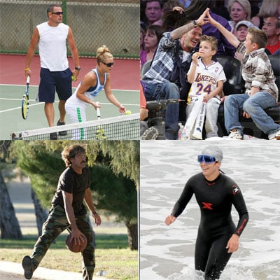 Best of 2008: A Year in Celebrity Sports