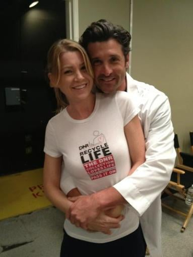 Patrick Dempsey And His Onscreen Love Ellen Pompeo Advocated For