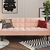 DHP Harper Convertible Sofa Sleeper Futon