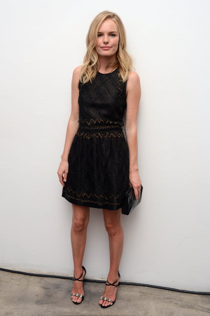 Kate Bosworth sported a Theyskens' Theory dress to the Whitney Art Party in NYC.
