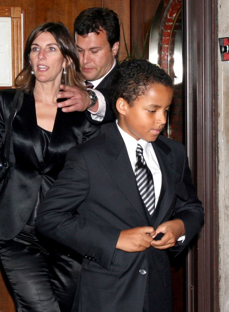 Connor Cruise left Tom Cruise and Katie Holmes's rehearsal dinner with Suri on Nov. 17, 2006.