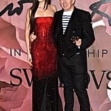 Anna Cleveland and Jean Paul Gaultier