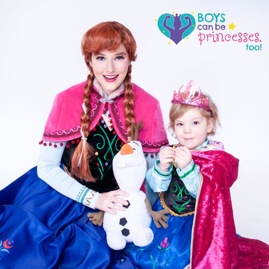 Photos of Boys Dressed as Disney Princesses
