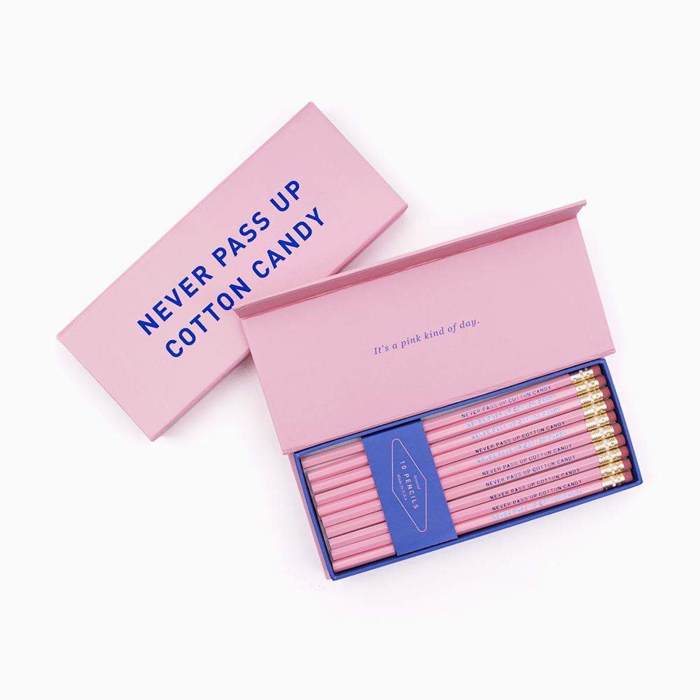 Hadron Epoch Cotton Candy Pencil Box Set ($15)