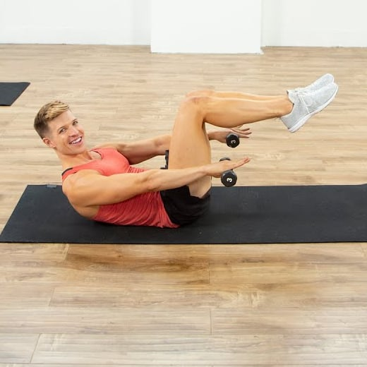 10-Minute Ab Workout With Jake DuPree