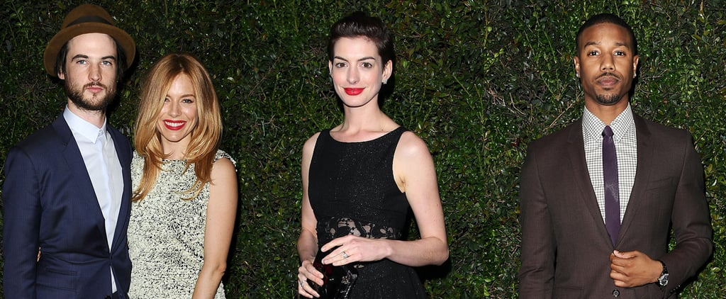 Celebrities at Chanel Oscars Dinner 2014