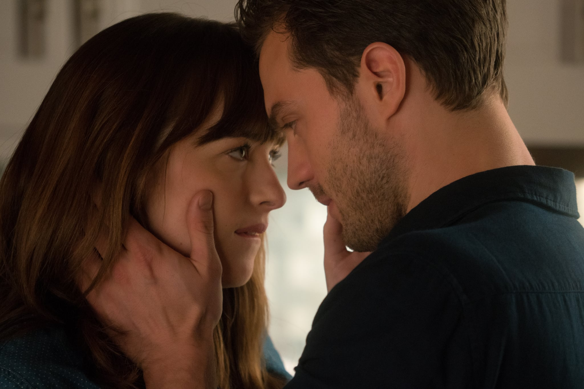 how christian proposes to ana in fifty shades darker popsugar share this link