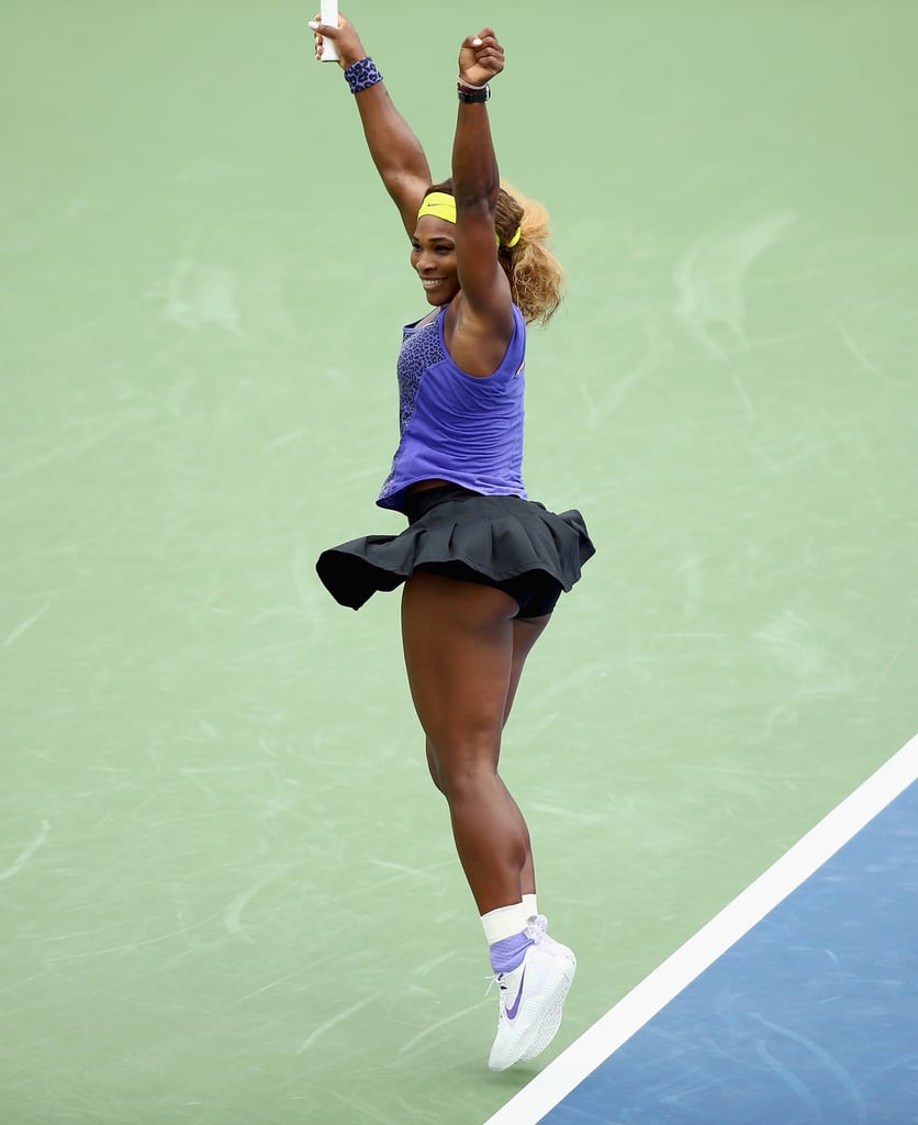 Did You Catch the Hint of Purple on Serena Williams's Socks and Sneakers?