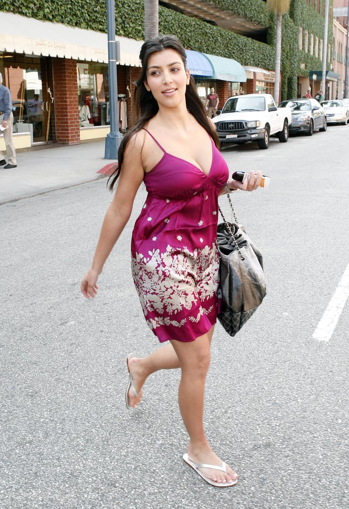 2008 Casual Street Style Kim Kardashian Style