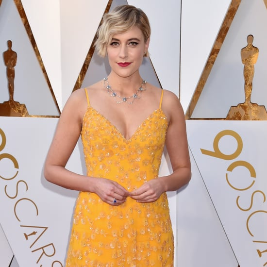 Greta Gerwig's Dress at the Oscars 2018