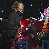 Michelle Obama read 'Twas the Night Before Christmas to kids.