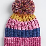 Color My Days Pom-Pom Beanie