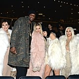 The Kardashian-Jenner Family and Lamar Odom