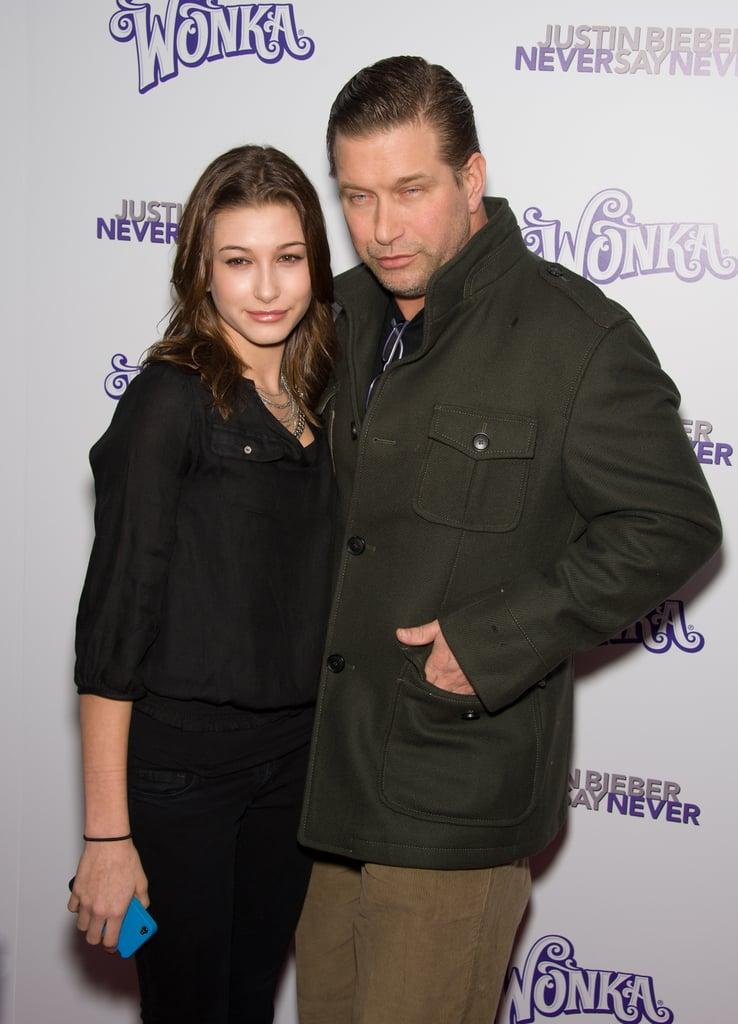 Hailey Bieber and Stephen Baldwin's Father-Daughter Photos