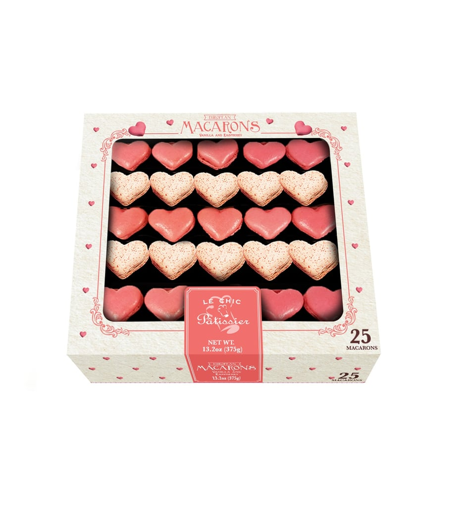 Costco Is Selling a Box of 25 Heart-Shaped Macarons For $12