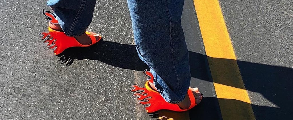 Kendall Jenner's Prada Flame Heels