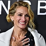 At the 2018 NYC premiere of Ben Is Back, Julia struck a cheerful pose while cameras flashed.