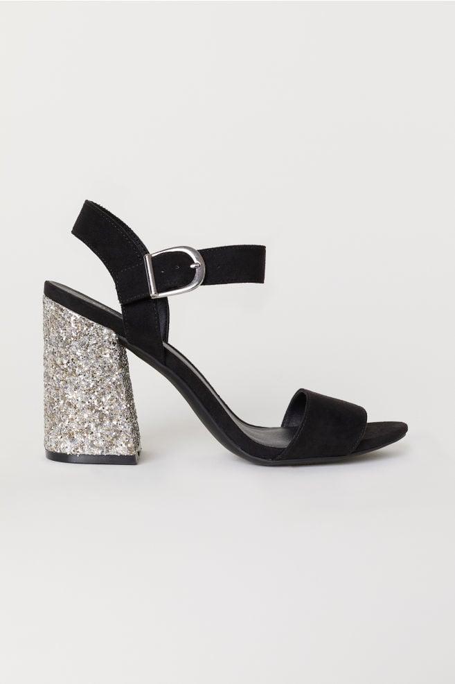 72c6dacc7f6 H M Block-Heeled Sandals