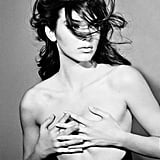 Kendall Posed Topless For Interview Magazine