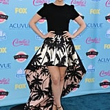 Lily Collins attended the 2013 Teen Choice Awards.